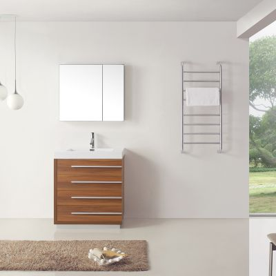 Virtu USA - JS-50530-PL - Bailey 30 in. Bathroom Vanity Set front view
