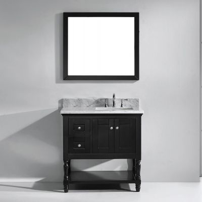 Virtu USA - MS-3136-WMSQ-ES-002 - Julianna 36 in. Bathroom Vanity Set front view