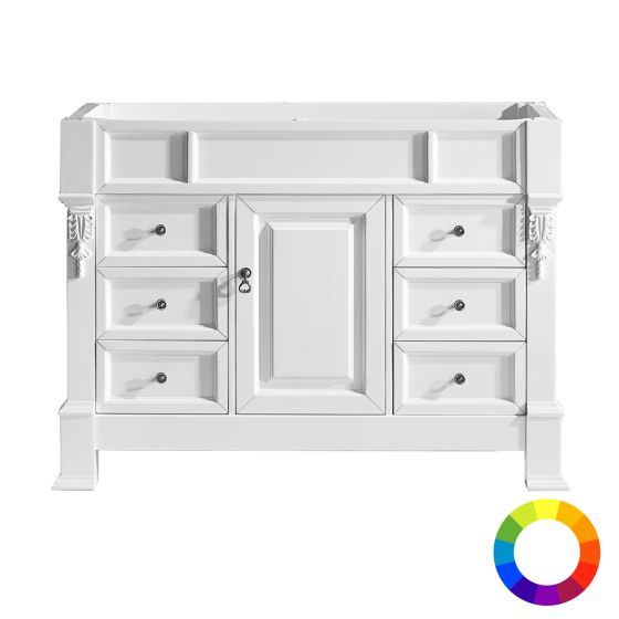 "Virtu USA - MS-2948-CAB - Huntshire Manor 48"" Single Vanity Cabinet Only"