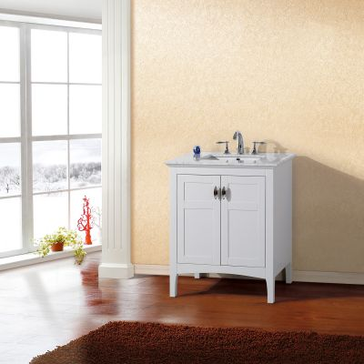 Bellaterra Home - 7613-WH-WH - 30