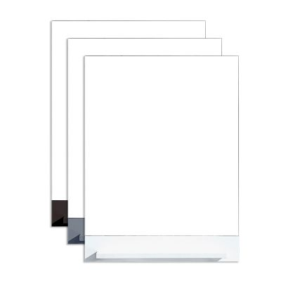 Zola 24 in. W x 31 in. H Mirror with Shelf in Multiple Colors