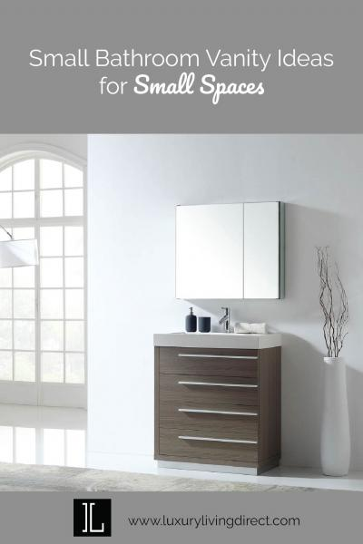 Small Bathroom Vanity Ideas for Small Spaces