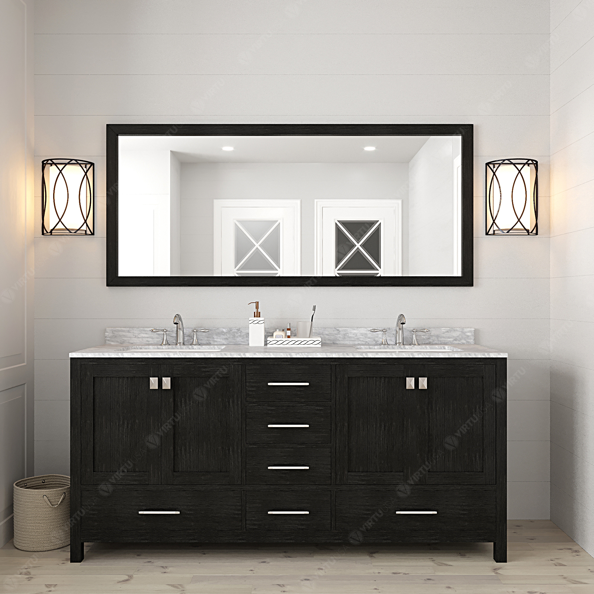 72 inch Vanity Color Ideas for your Bathroom Remodel - Luxury Living ...