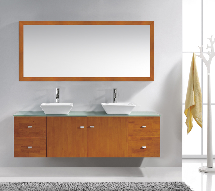 72 inch vanity with 2 mirrors