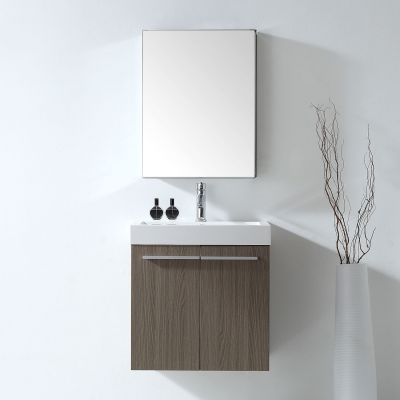 Virtu USA - JS-50124-GO - Midori 24 in. Bathroom Vanity Set front view