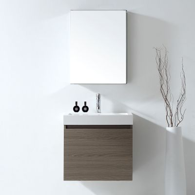 Virtu USA - JS-50324-GO - Zuri 24 in. Bathroom Vanity Set front view