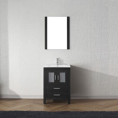 Virtu USA - KS-70024-C-ZG-001 - Dior 24 in. Bathroom Vanity Set front view