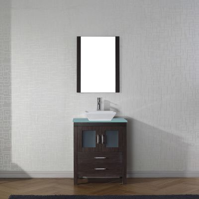 Virtu USA - KS-70028-G-ES-001 - Dior 28 in. Bathroom Vanity Set front view