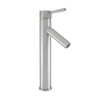 Virtu USA - PS-104-BN - PS-104-BN  Brushed Nickel Single Handle Faucet