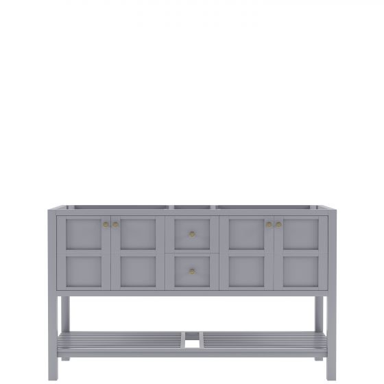 """Winterfell 60"""" (ED-30060-CAB-GR) Cabinet Only in Grey"""