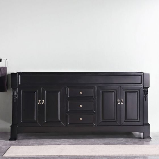 "Virtu USA - GD-4072-CAB-DW - Huntshire 72"" Double Vanity Cabinet without Top"