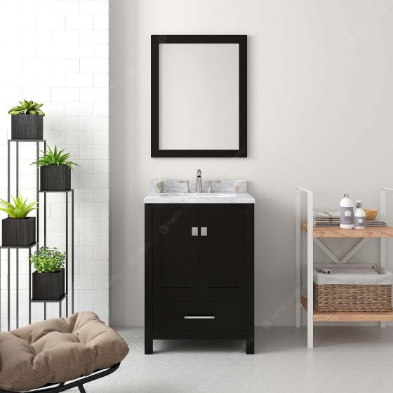 Virtu USA - GS-50024-WMSQ-ES-001 - Caroline Avenue 24 in. Bathroom Vanity Set front view