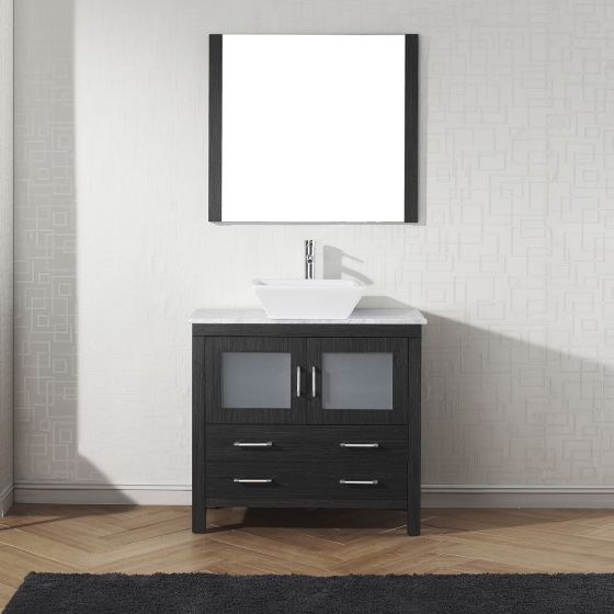 Virtu USA - KS-70036-WM-ZG-001 - Dior 36 in. Bathroom Vanity Set front view
