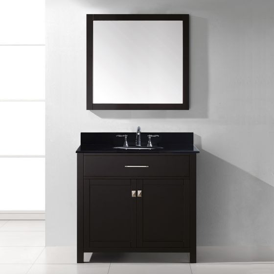 Virtu USA - MS-2036-BGRO-ES-002 - Caroline 36 in. Bathroom Vanity Set front view