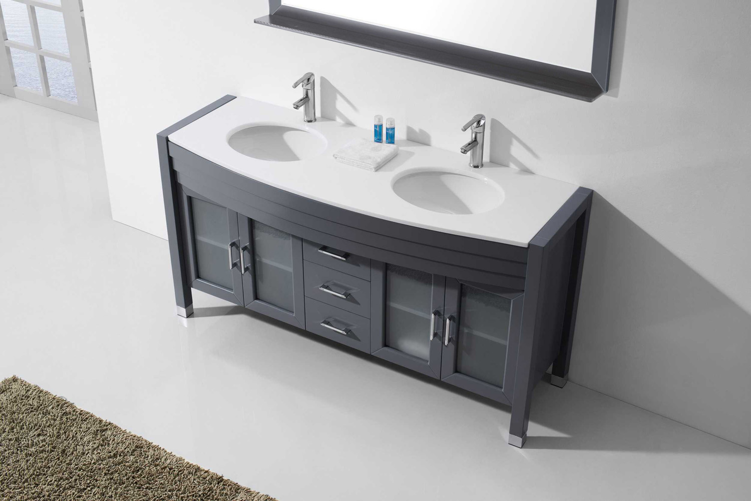 Pros And Cons Of Double Sink Vs Single Sink Vanities Luxury Living Direct Bathroom Vanity Blog Luxury Living Direct