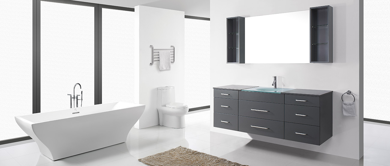 A Floating Or Wall Mounted Vanity Will Be Good Option Since It Able To Adjust Neutral Height So That Both S And Kids Can Use