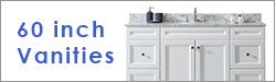 60 Inch Single Sink Vanities