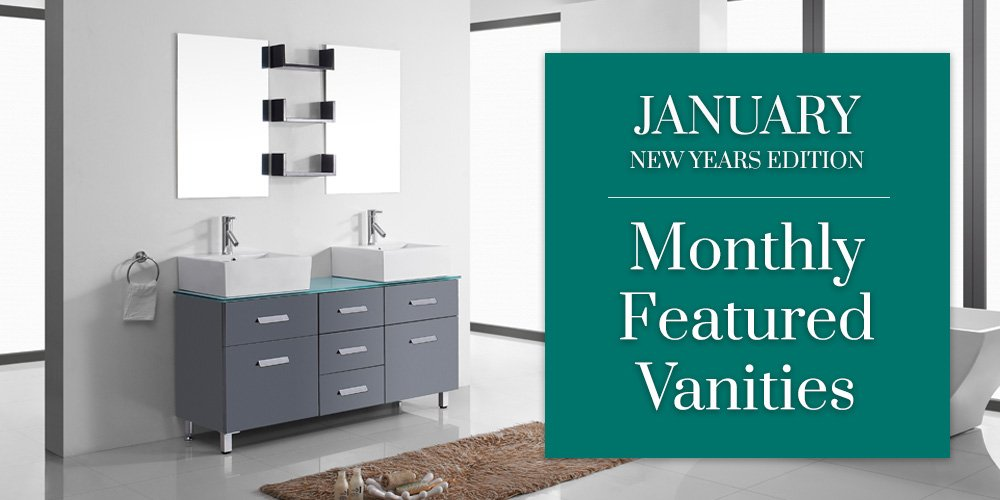Featured Bathroom Vanities January 2018