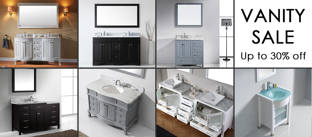 Virtu USA Bathroom Vanity Sale