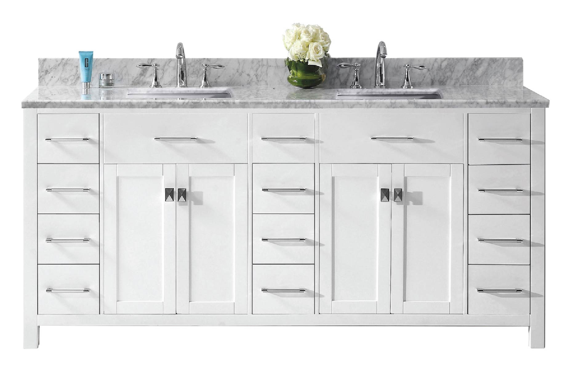 Vanities 70 to 79 inches wide