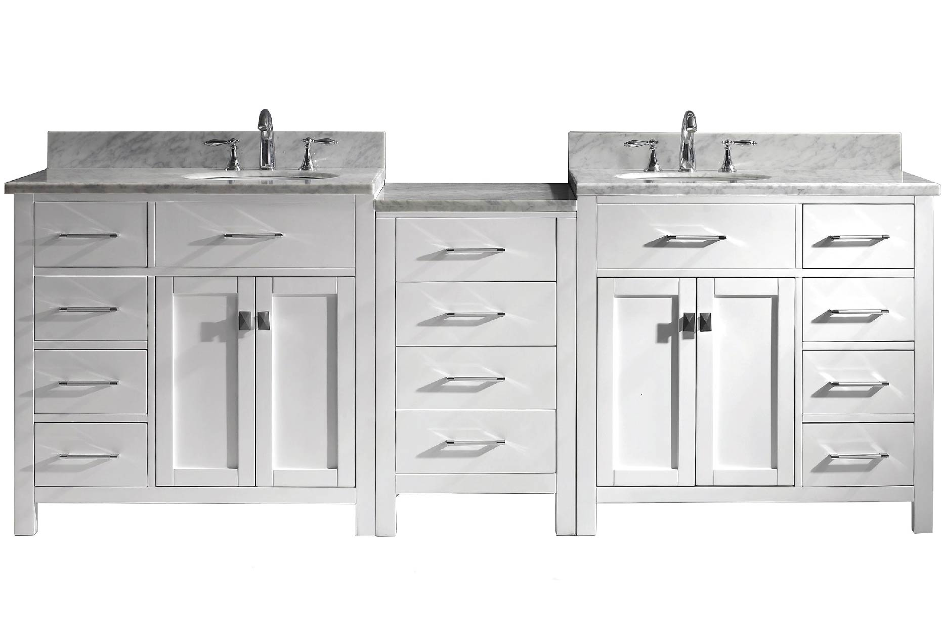 Vanities Over 80 inches wide