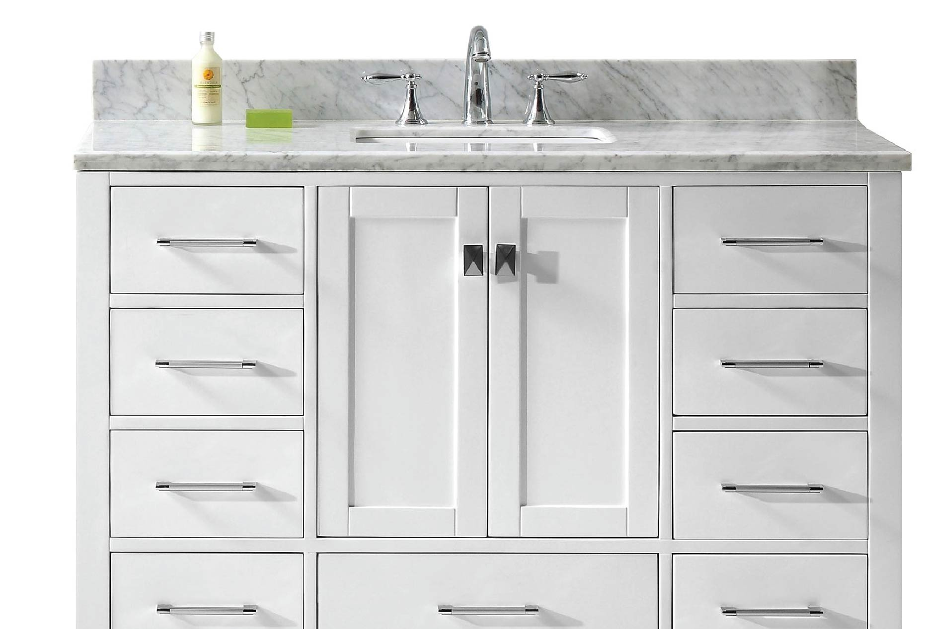 Caroline 48 Single Sink Marble Countertop