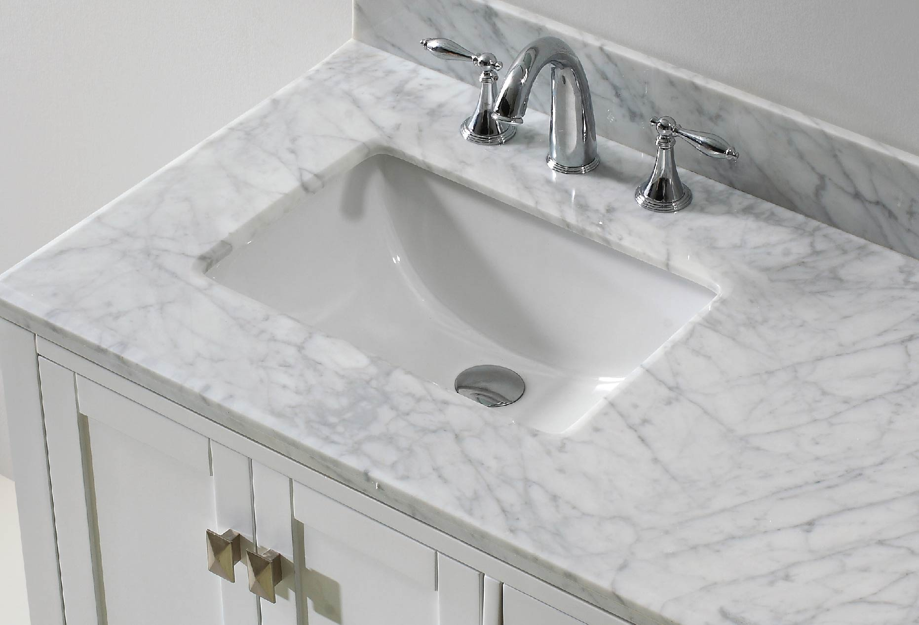 Caroline Avenue Vanity with Square Sink