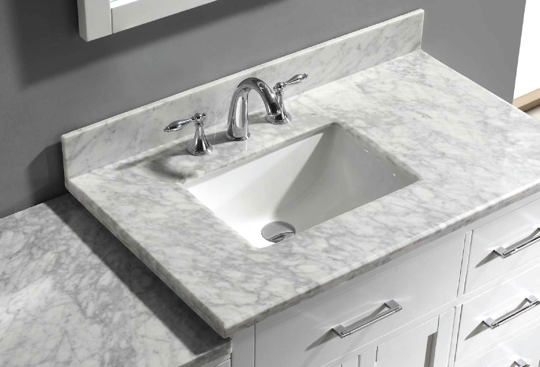 Caroline Avenue Parkway with Square Sink