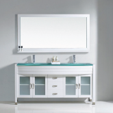 Vanities with Glass Top
