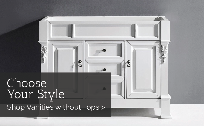 Vanities without Tops Sale