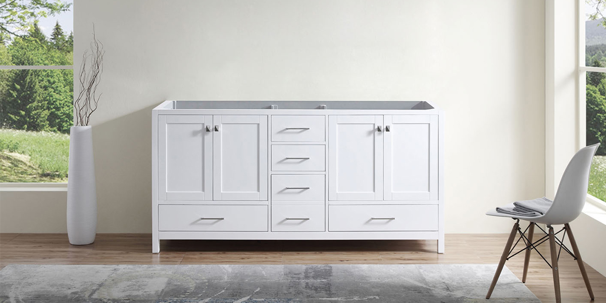 Shop Vanities Without Tops Bathroom Vanities Luxury Living Direct